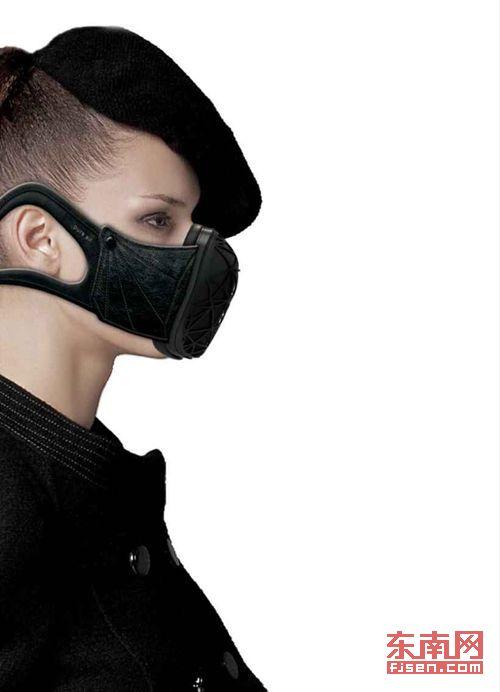口罩创意设计广告图片