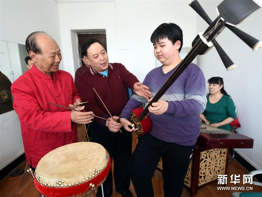(晚报)(2)河北广阳:传承京东大鼓艺术