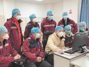 澳门皇冠vip16884名出征者继续坚守在武汉金银潭医院