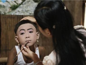 泰国男孩入寺为僧全程