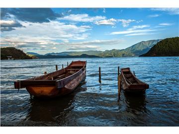 静谧的泸沽湖