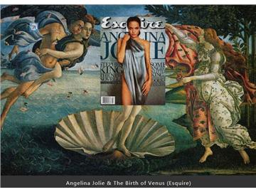 古代名画与时尚杂志的神奇混搭